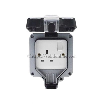 bd waterproof 13a socket