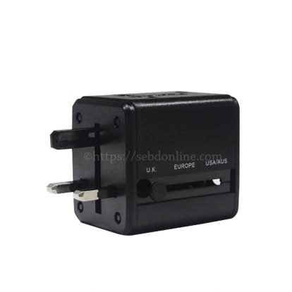 multi nation travel adapter with usb charger 3