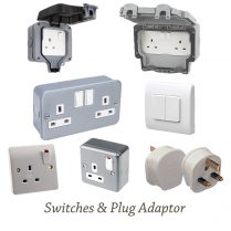Switches and Plug Adapter