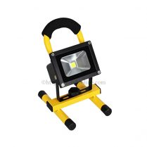 led rechargeable flood light 10w